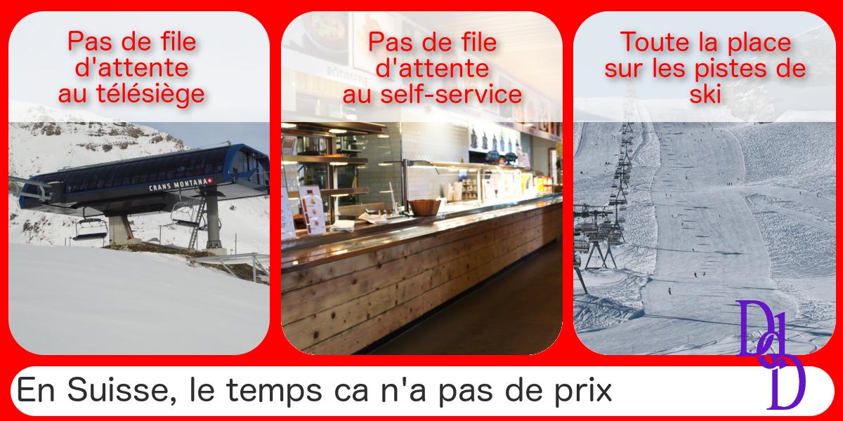 BNS: Des touristes annulent leur vacances de ski en Suisse, devenues trop chères.